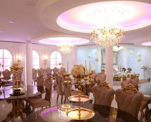 بهترین سالن عقد شیک در شرق تهران